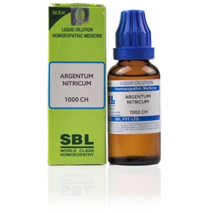 SBL Argentum Nitricum Dilution 1000 CH