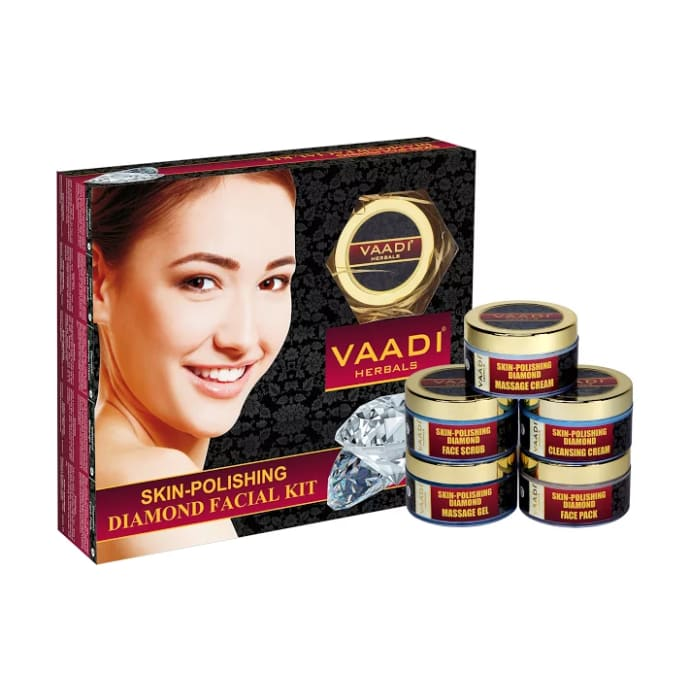 Vaadi Herbals Skin-Polishing Diamond Facial Kit 270gm