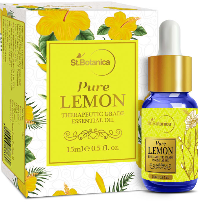 St.Botanica Lemon Pure Essential Oil