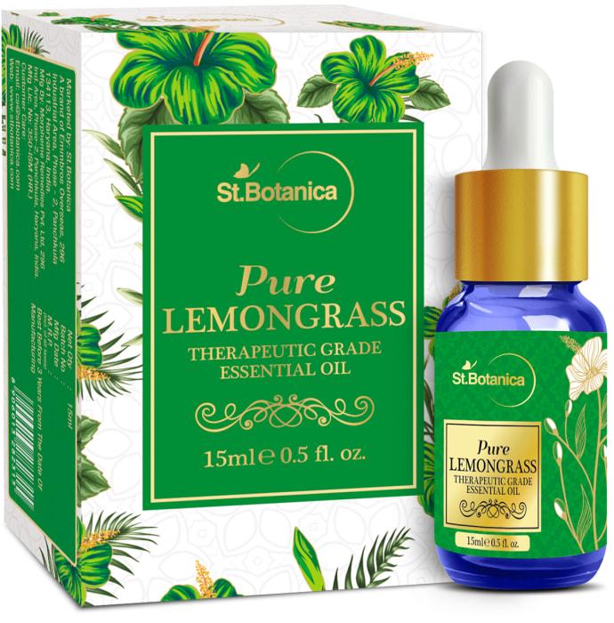 St.Botanica Lemongrass Pure Essential Oil
