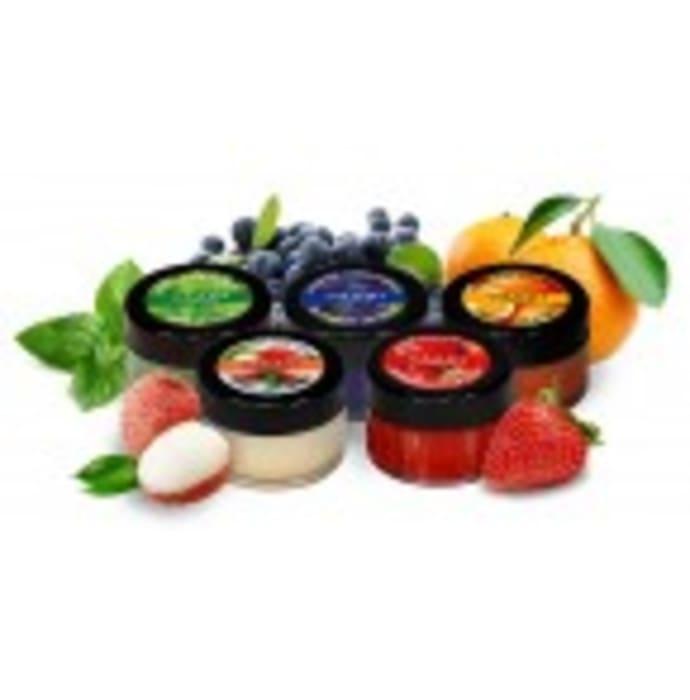 Vaadi Herbals Assorted Pack of 5 Lip Balms(10gm Each)