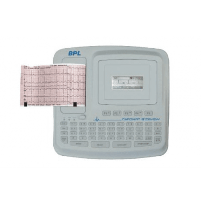 BPL 8108 View ECG Machine