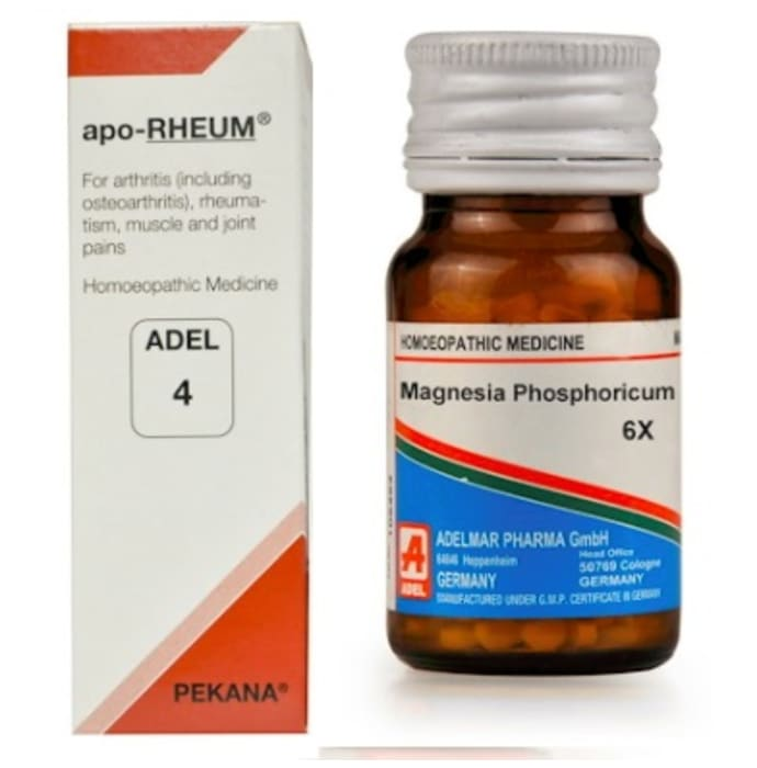 ADEL Joint Care Combo (ADEL 4 + Magnesium Phosphoricum Biochemic Tablet 6X)