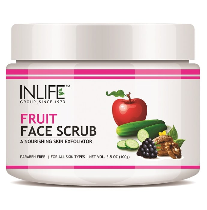 Inlife Fruit Face Scrub
