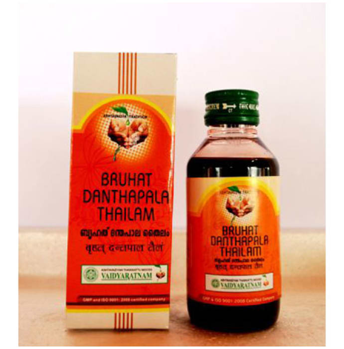 Vaidyaratnam Bruhath Dhanthapala Thailam Oil
