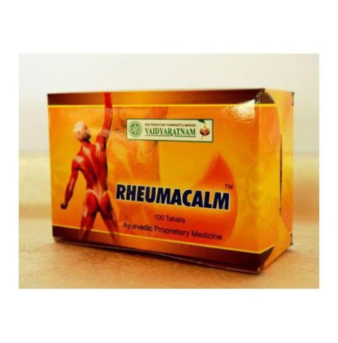 Vaidyaratnam Rheumacalm Tablet