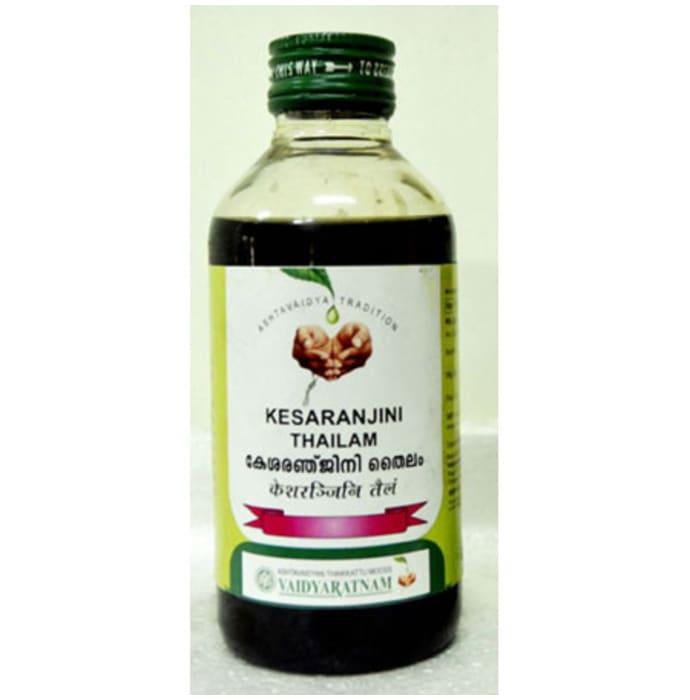 Vaidyaratnam Kesaranjini Thailam Oil