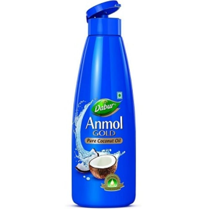 Dabur Anmol Gold Pure Coconut Oil (Narrow Mouth)
