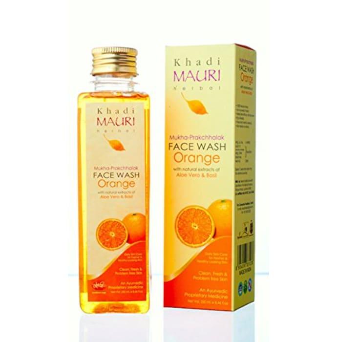 Khadi Mauri Herbal Orange Face Wash