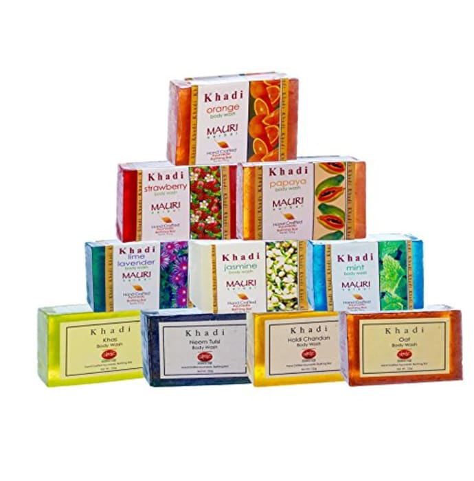 Khadi Mauri Herbal Ayurvedic Combo Soap