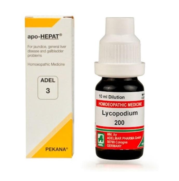 ADEL Liver Care Combo (ADEL 3 + Lycopodium Clavatum Dilution)