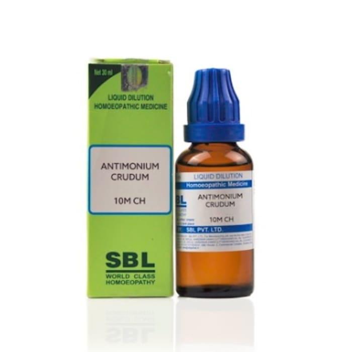 SBL Antimonium Crudum Dilution 10M CH