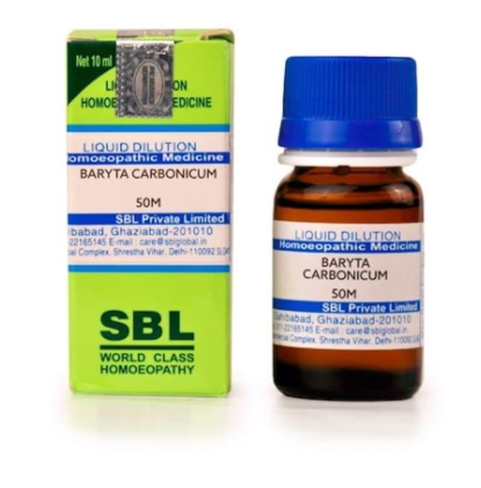 SBL Baryta Carbonicum Dilution 50M CH