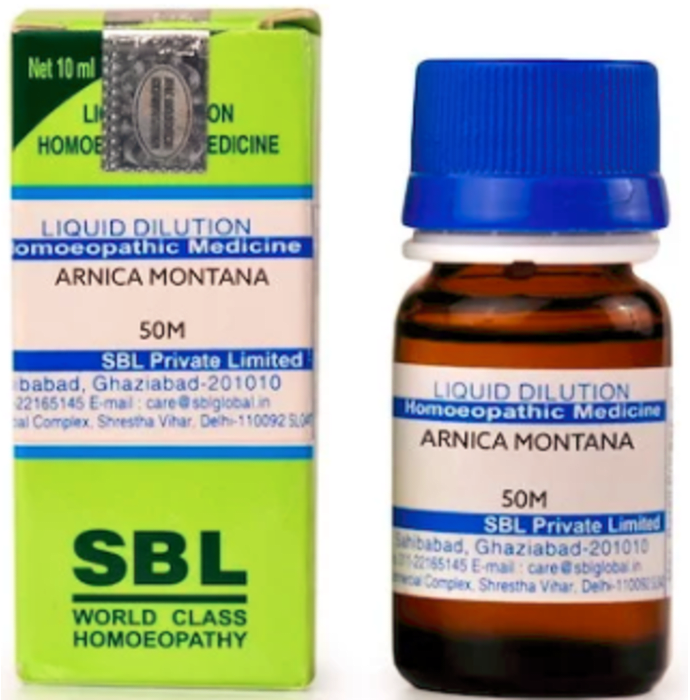 SBL Arnica Montana Dilution 50M CH