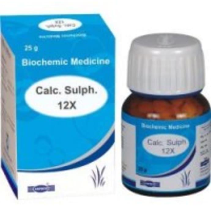 Hapdco Calc. Sulph. Biochemic Tablet 12X