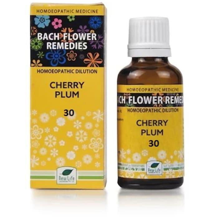 New Life Bach Flower Cherry Plum 30