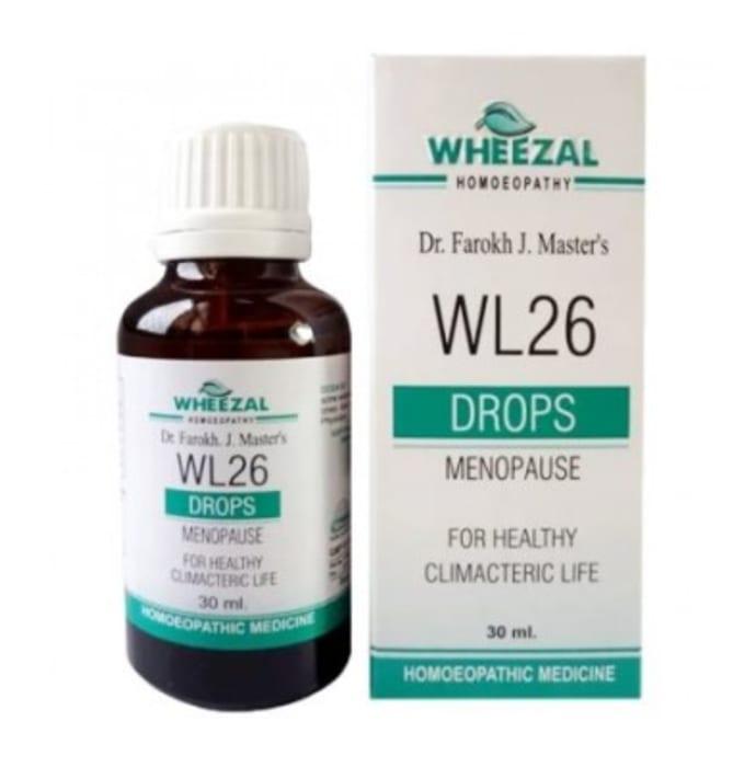 Wheezal WL26 Menopause Drop