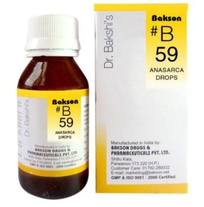 Bakson's B59 Anasarca Drop
