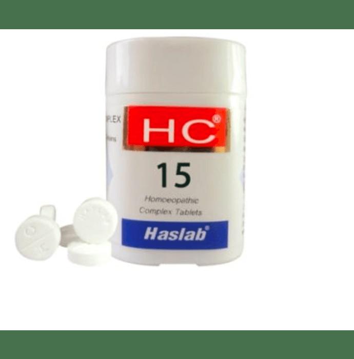 Haslab HC 15 Euphorbia Complex Tablet