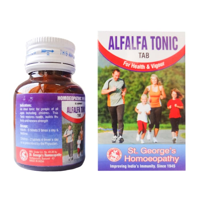 St. George's Alfalfa Tonic Tablet