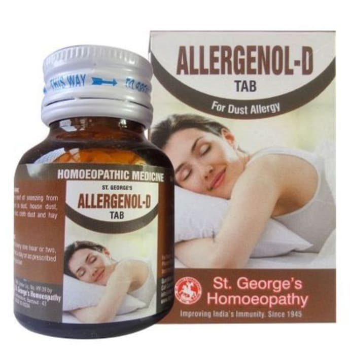 St. George's Allergenol-D Tablet