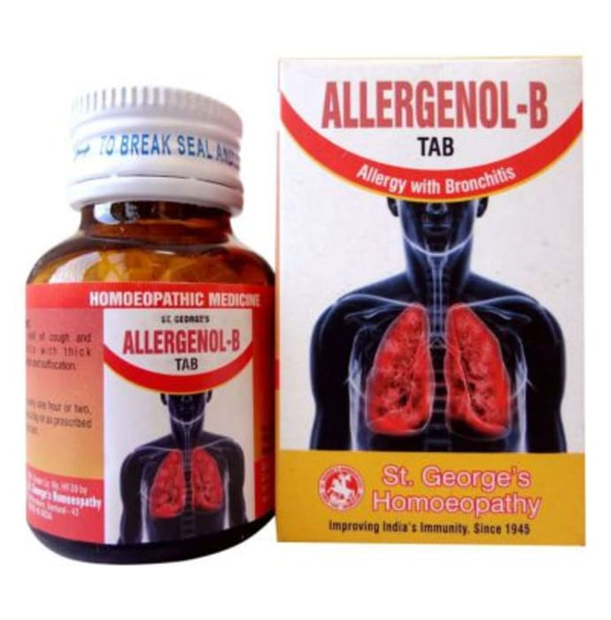 St. George's Allergenol-B Tablet