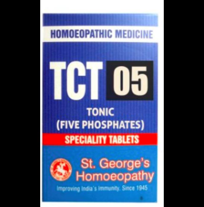 St. George's TCT 05 Tonic (Five Phosphates) Tablet