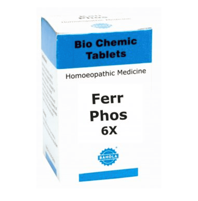 Bahola Ferr Phos Biochemic Tablet 6X