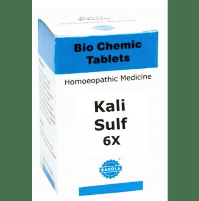 Bahola Kali Sulf Biochemic Tablet 6X