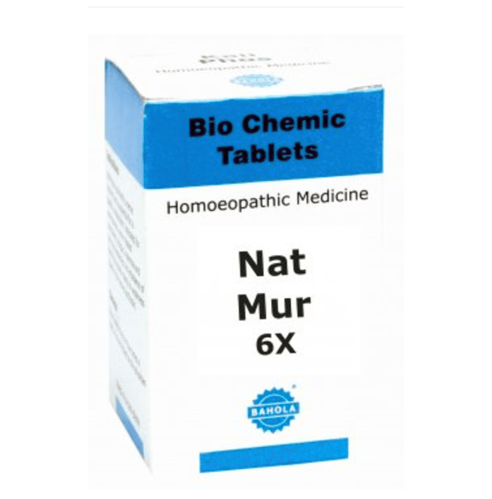 Bahola Nat Mur Biochemic Tablet 6X