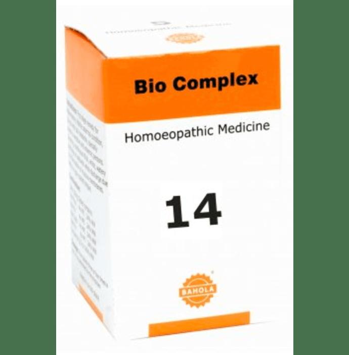 Bahola Bio Complex 14 Biocombination Tablet