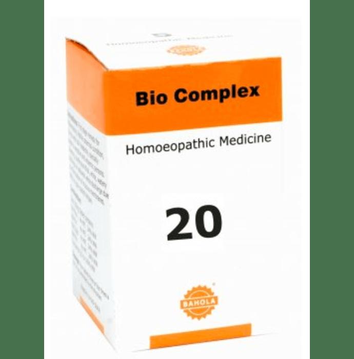 Bahola Bio Complex 20 Biocombination Tablet