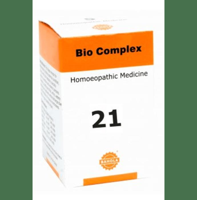 Bahola Bio Complex 21 Biocombination Tablet