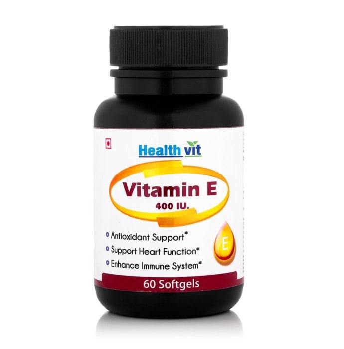HealthVit Vitamin E Dry 400IU  Capsule