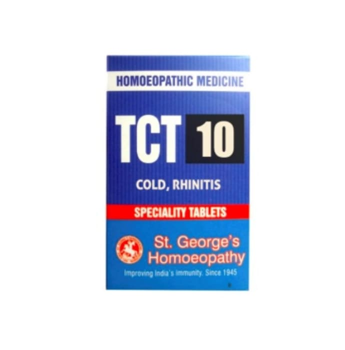 St. George's TCT 10 Cold,Rhinitis Tablet