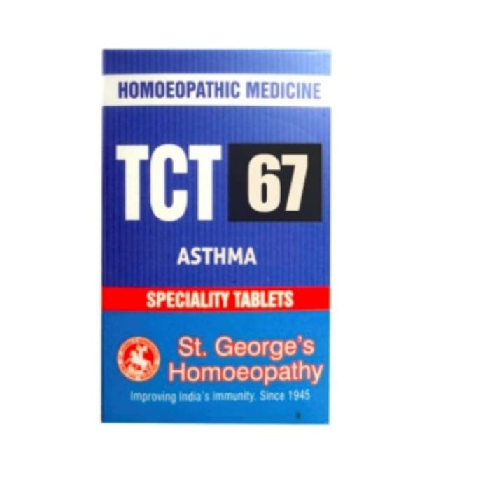 St. George's TCT 67 Asthma Tablet