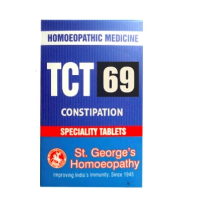 St. George's TCT 69 Constipation Tablet