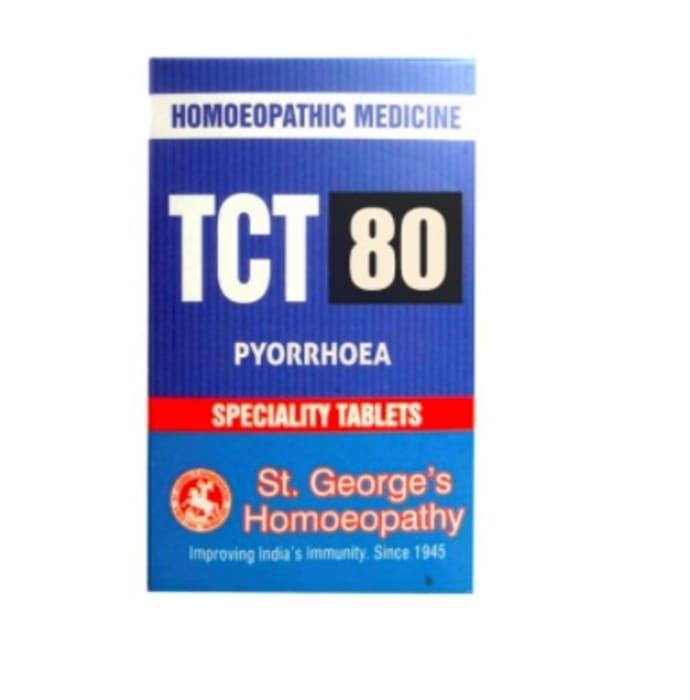 St. George's TCT 80 Pyorrhoea Tablet