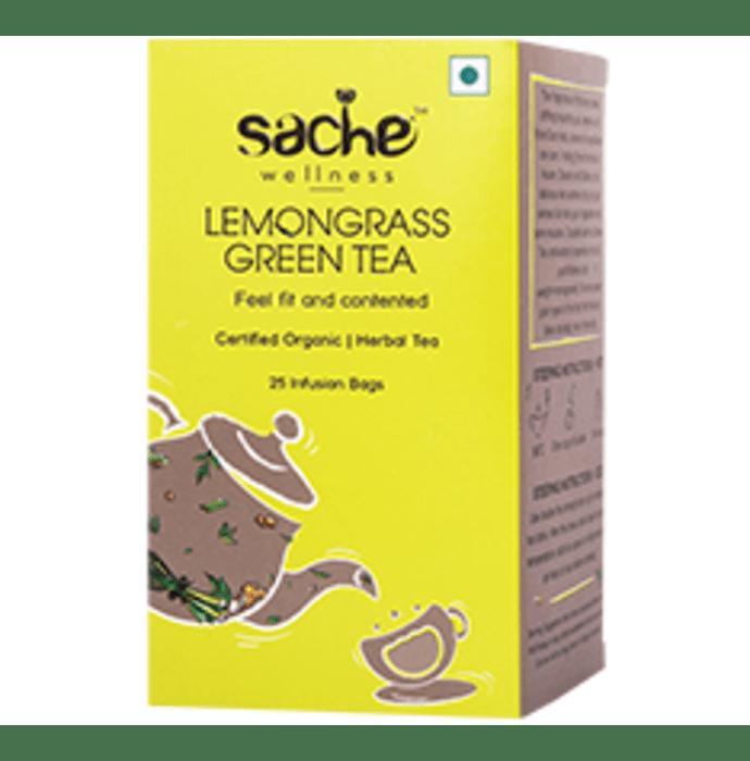 Sache Wellness Organic Lemongrass Green Tea Bag