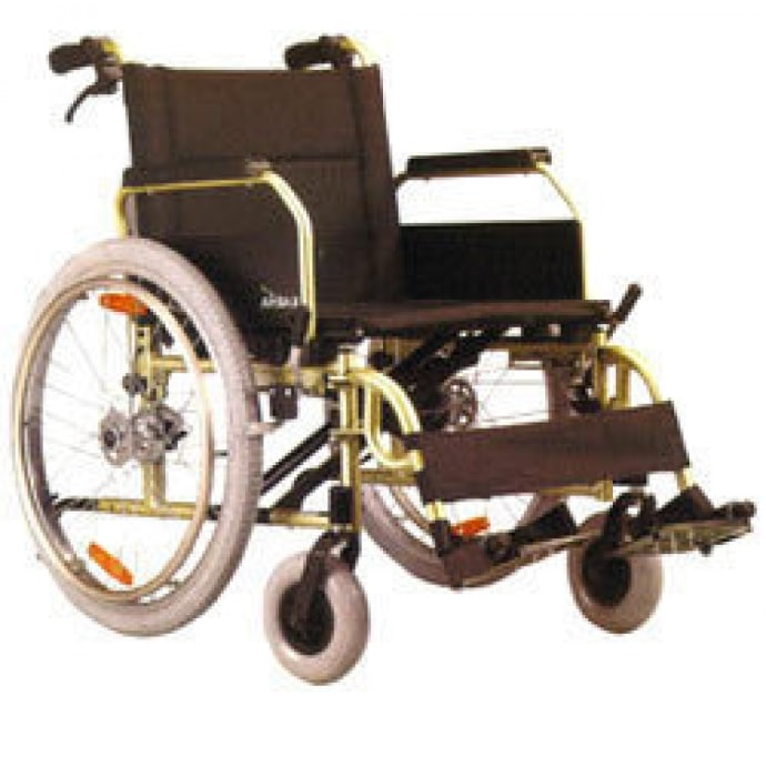Karma KM 8020X with High Weight Capacity Manual Wheelchair
