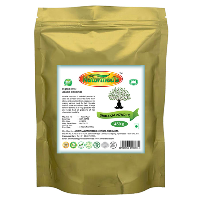 Naturmed's Shikakai Powder