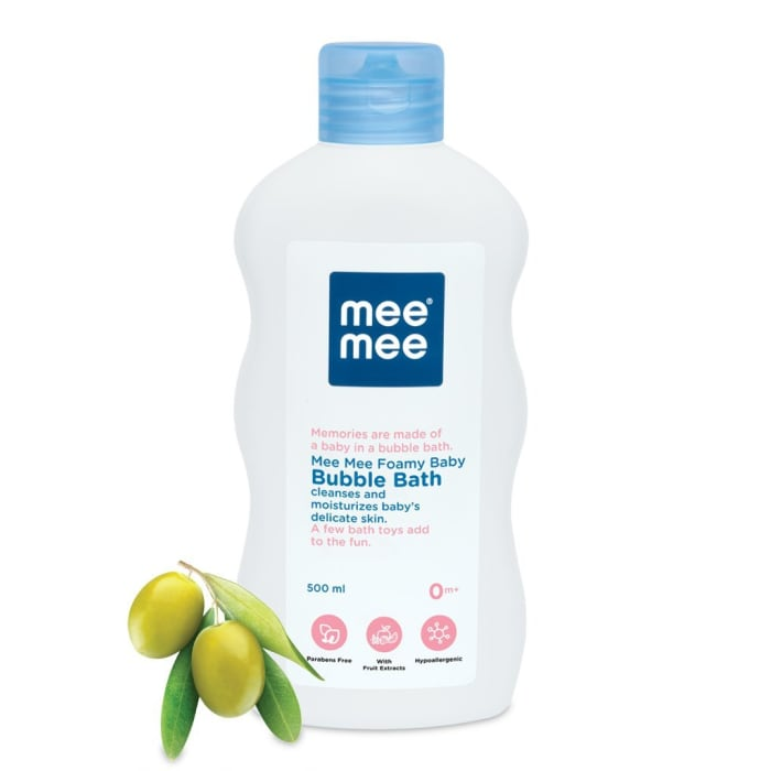 Mee Mee Gentle Baby Bubble Bath with Fruit Extracts