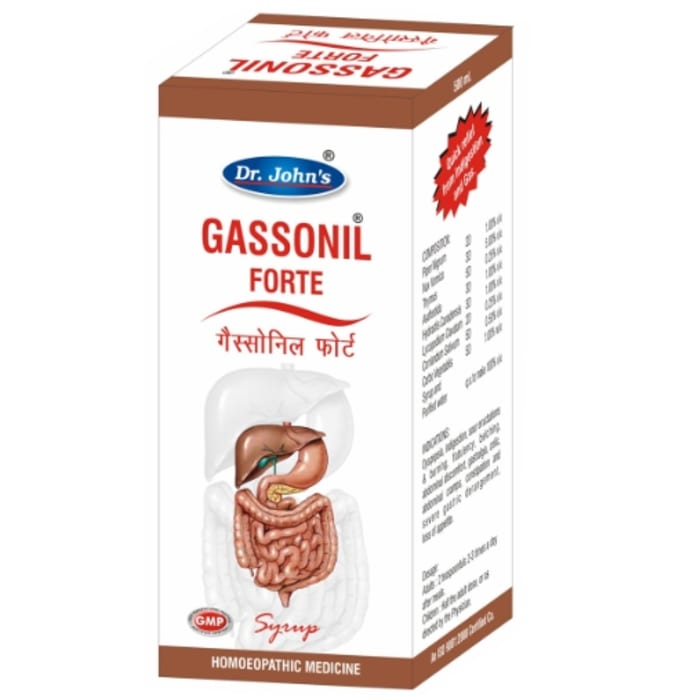 Dr. Johns Gassonil Forte Syrup