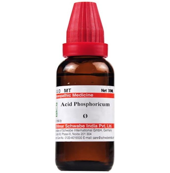 Dr Willmar Schwabe India Acidum Phosphoricum Mother Tincture Q