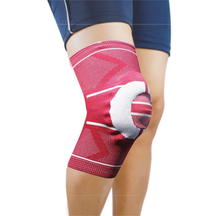 Dyna 3D Knitted Knee Cap XL Maroon Right