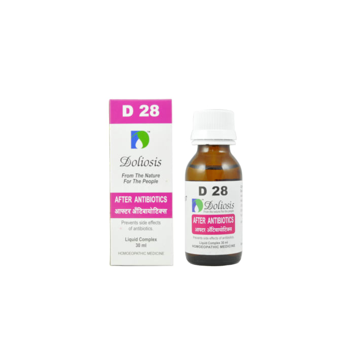 Doliosis D28 After Antibiotics Drop