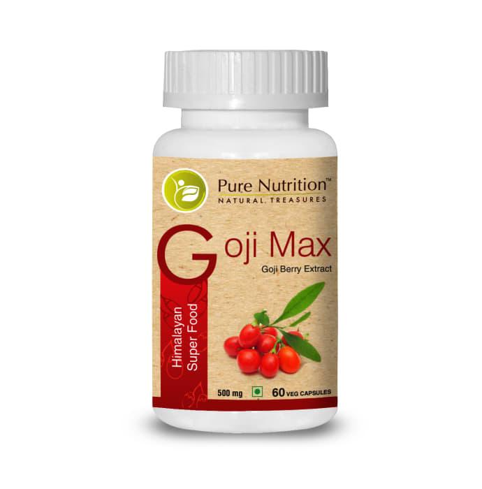 Pure Nutrition Goji Max Capsule