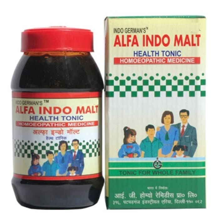 Indo Germans Alfa Indo Malt Health Tonic