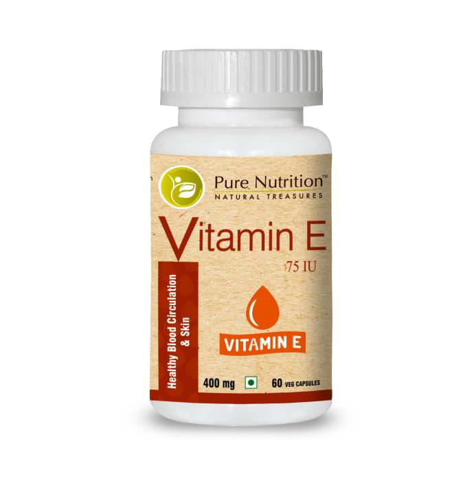 Pure Nutrition Vitamin E Capsule