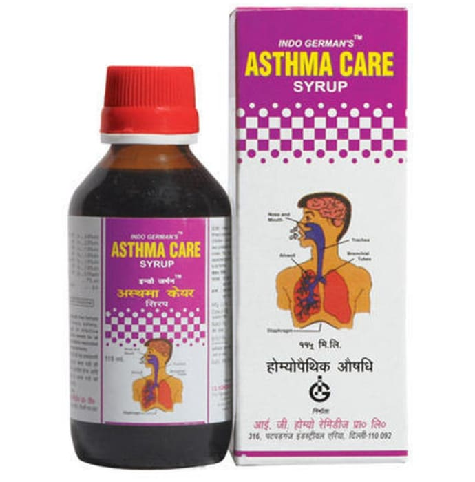 Indo Germans Asthma Care Syrup